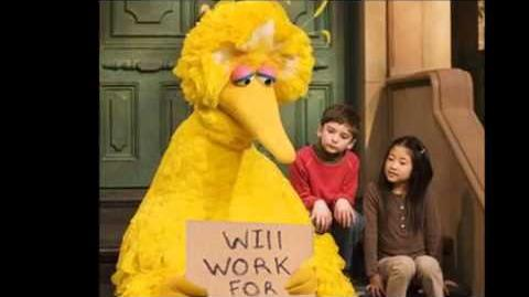 Sesame Street: Big Bird... Behind the Beak.