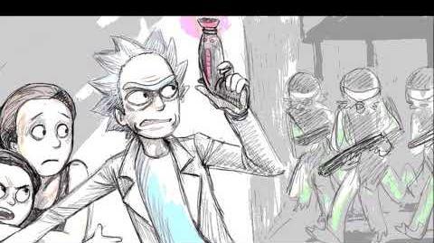 CREEPYPASTA Rick and Morty Lost Rickisode Episode
