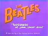 The Beatles Cartoon Lost Episode