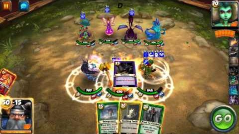 Card King Dragon Wars Gameplay Preview- New Passives