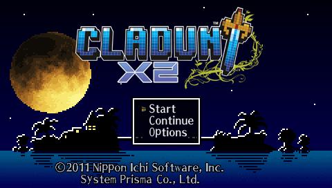 Cladun x2 Title