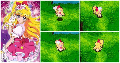 Cure-miracle-precure-psp-game-mod-cladun-x2