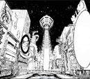 Le quartier marchand de Hanshin