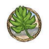 Item palm leaf