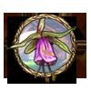 Item flying flower
