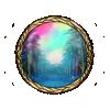 Item rainbow path background