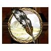 Item caudipteryx feather