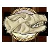 Item repenomamus skull