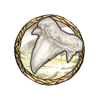 Item shark tooth