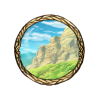 Item mountain view background