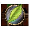 Item glowing leaf