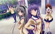 Tomoyo y Kyou