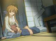 Sanae y Akio