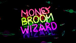Money broom wizard title