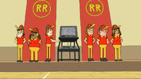 Rough Riders Elementary episode - Numero 31