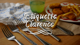 Etiquette Clarence Card