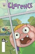 Clarence Comic Portada 1
