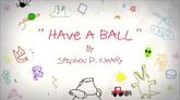 Toma una pelota - Carta