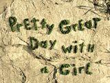 Un día genial con una chica/Transcripción