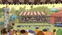 Clarence episodio - Mercado medieval - 087