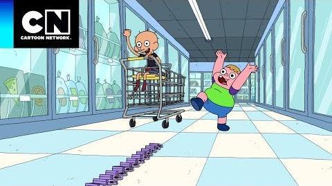 Clarence - Perdido en el supermercado (Clip)