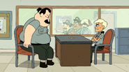 Clarence episode - Officer Moody - 063