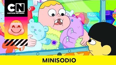 Máquina de juguetes Clarence Minisodios Cartoon Network