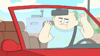 Clarence episode - Just Wait in the Car - 0144