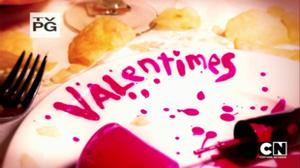 Valentimes Carta de titulo