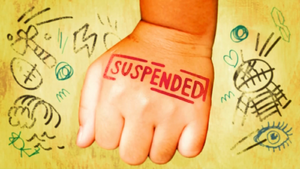 Suspended card