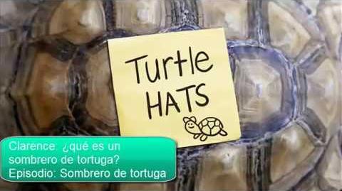 Canciones de Clarence ¿Qué es un sombrero de tortuga?