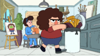 Clarence episodio - La mochila de Belson - 082