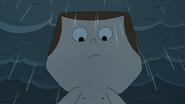 Jeff in the rain
