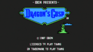 Dragon's Cusp Game Title
