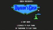 Dragon's Cusp Game Title