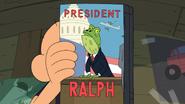 PRESIDENT RALPH!