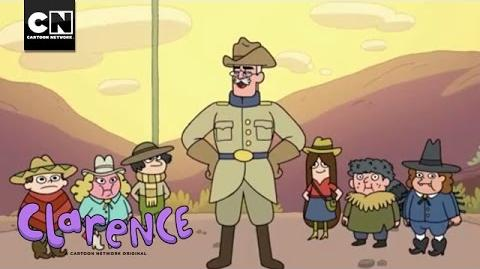 Rough Riders School Sponsorship I Clarence I Cartoon Network
