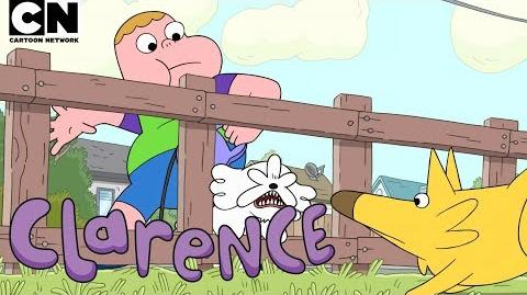 Clarence Dog King Cartoon Network