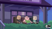 Old Sumo, Clarence, and Jeff