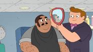 You like your hair cut, sir