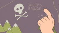 Let's go to the... Sheep Bridge!