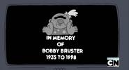 In Memory of Bobby Bruster