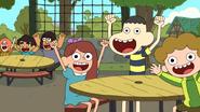 S1 E11 Kids cheering
