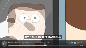 Proof that his last name Randell