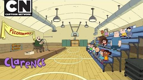Clarence Pizza Assembly Cartoon Network