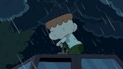 Sad Breehn in the rain