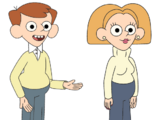 Walt and Tiffany