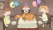 THIS CAT IS RUINING MY BIRTHDAY