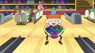 Breehn with bowling balls