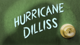 Carta - Hurricane Dilliss